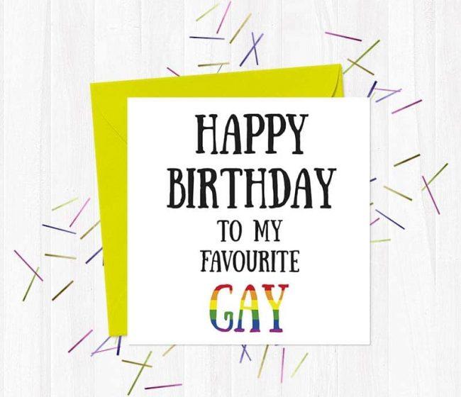 Happy Birthday To My FavouriteGay