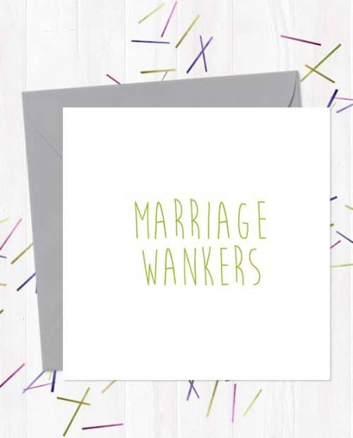 Marriage Wankers