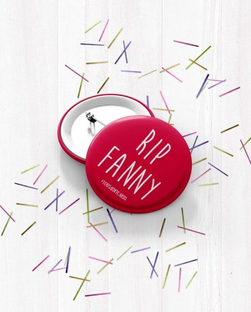 RIP Fanny Badge
