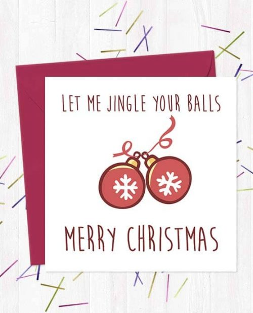Let me jingle your balls - Merry Christmas