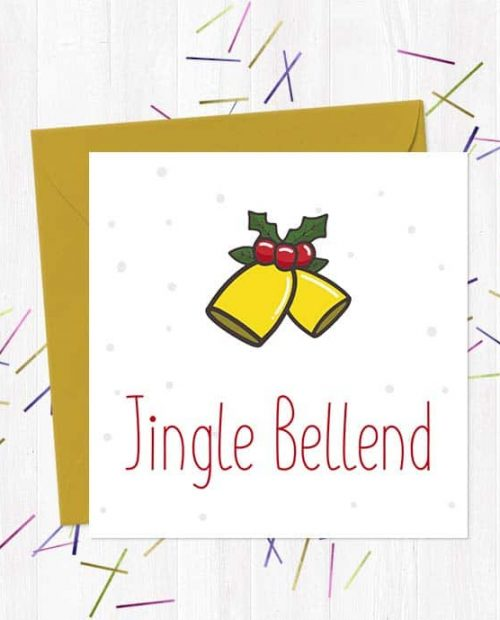Jingle Bellend - Christmas Card