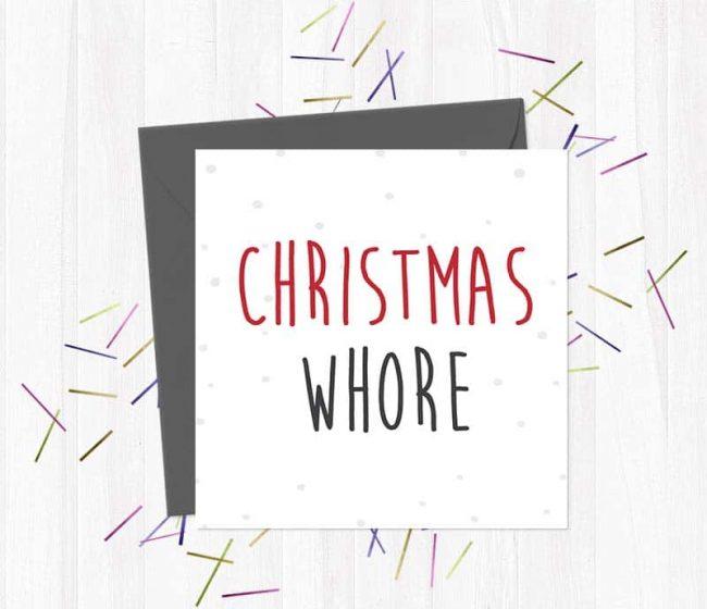 Christmas whore – Christmas Card