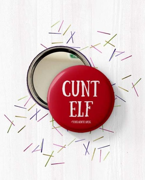 CUNT ELF Mirror