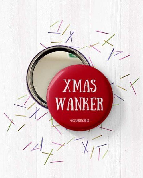 Xmas Wanker Mirror