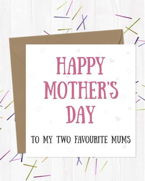 Happy Mother's Day To My Two Favourite Mums