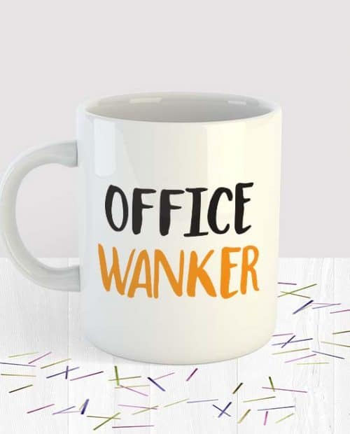 Office Wanker Mug