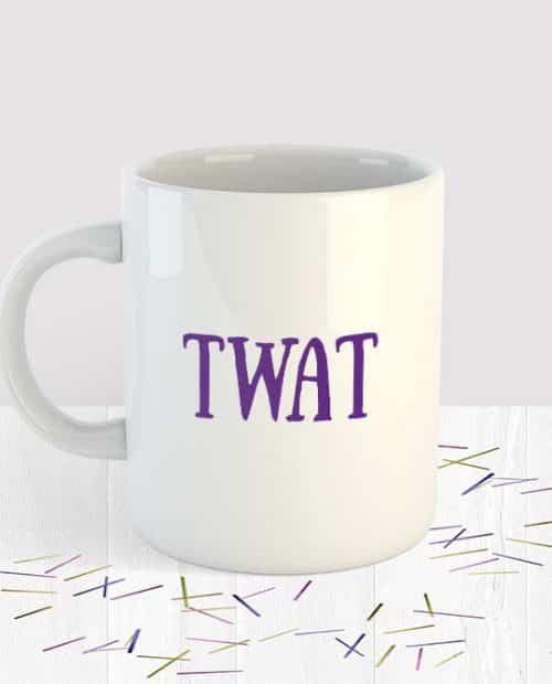 Twat Mug Small