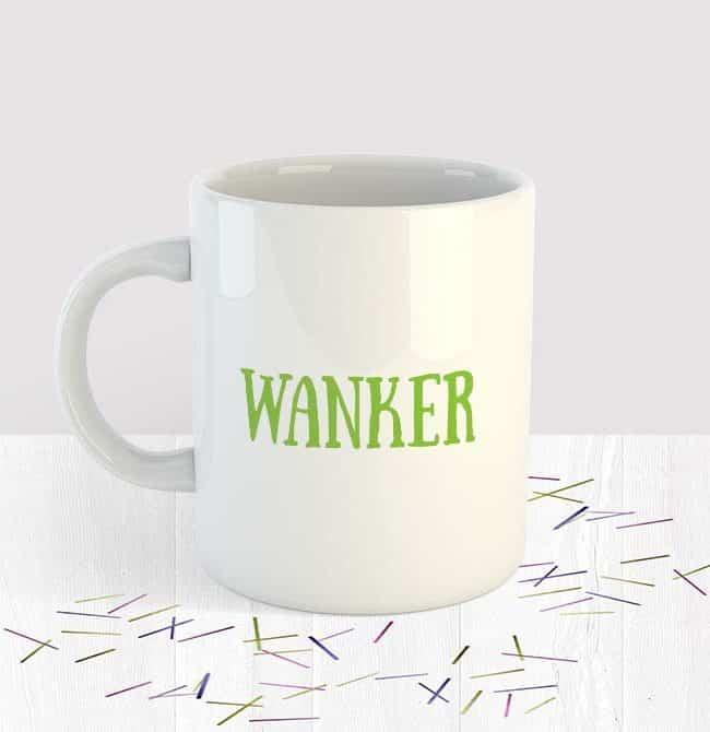 Wanker Mug Small