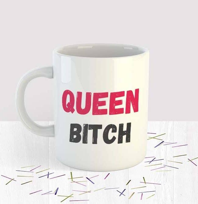 Queen Bitch Mug Small